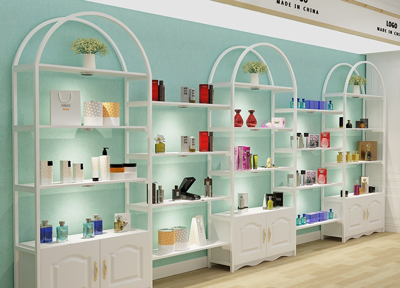 beauty product display
